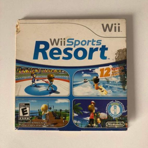 Wii Sports Resort Mídia Física Original Nintendo