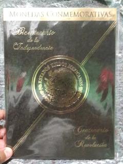 Album C/37 Monedas Independencia Y Revolución Nuevas C/envio
