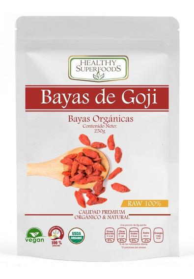 Bayas De Goji 250g Premium Organicas Certificadas