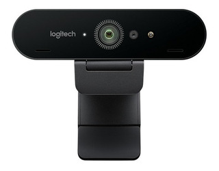 Webcam Logitech Brio 4k Camara Web Hdr Streaming Uhd Htg
