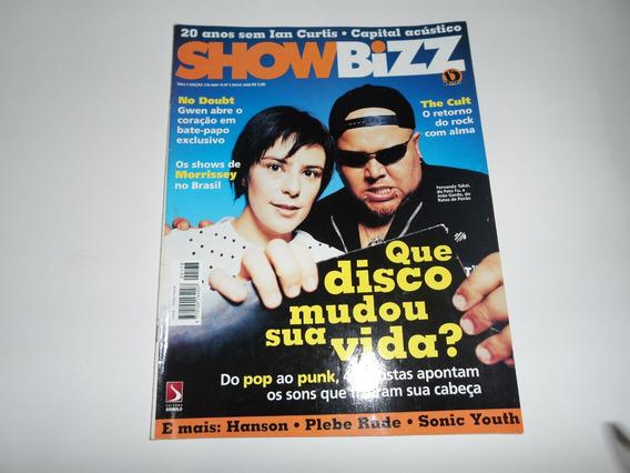 Revista Showbizz - João Gordo, Fernanda Takai, Morrissey