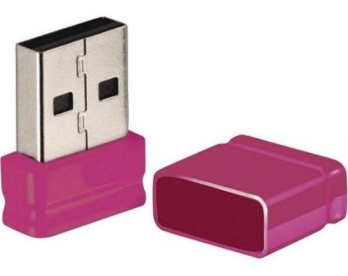 Pen Drive Usb Multilaser 8gb Nano Rosa Pd063