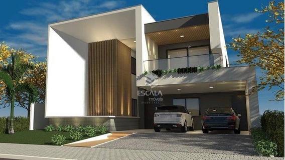Casa Com 4 Quartos À Venda, 217 M², 4 Vagas, Varanda Gourmet, Financia - Centro - Eusébio/ce - Ca0329