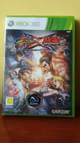 Street Fighter X Tekken Xbox 360 Lacrado!
