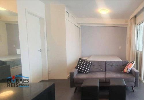Apartamento Para Alugar, 35 M² Por R$ 3.300,00/mês - Vila Andrade (zona Sul) - São Paulo/sp - Ap15975