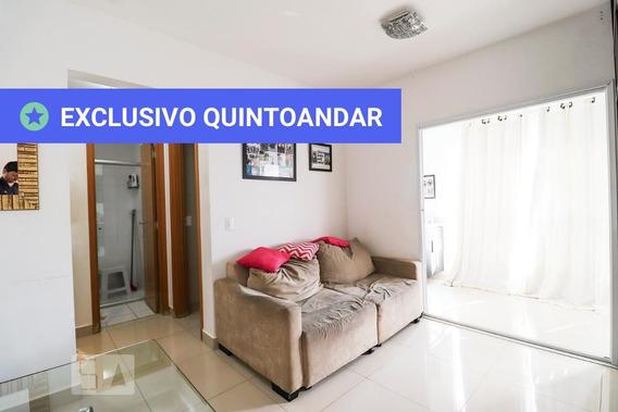 Apartamento No 2º Andar Mobiliado Com 1 Dormitório E 1 Garagem - Id: 892966765 - 266765