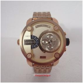 Relógio Masculino Atlantis A3344 Dourado Original 12x S/j