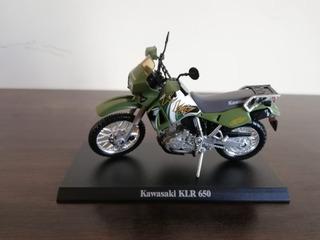Miniatura Motocicleta Kawasaki Klr 650 1:18
