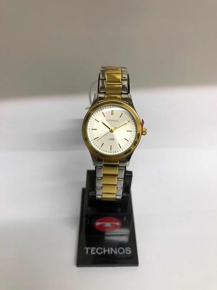 Relógio Technos Prateado Feminino 2035las/5k