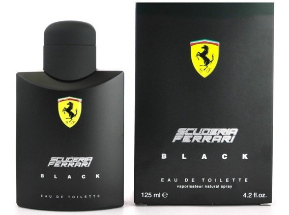 Perfume Ferrari Black 125ml 100% Original Made In Italy Nf