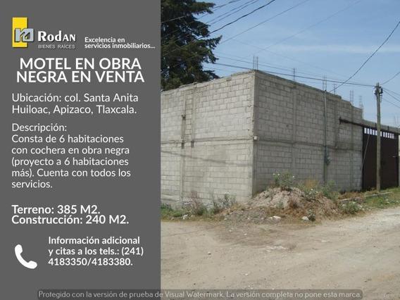 Terreno Comercial En Venta Santa Anita Huiloac