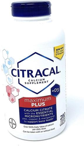 Citracal Máximo Con Vitamina D3 (280unidades)