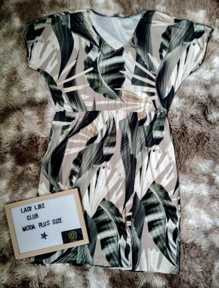 Vestido Plus Size Tamanho 52