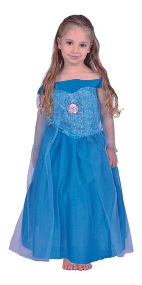 Disfraz Disney Frozen Elsa Con Luz Orig Newtoys Mundo Manias