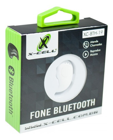 Fone Bluetooth - Xc-bth-19 - Marca:x-cell - Ds Tools