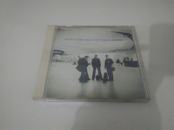 Cd U2 All That You Can