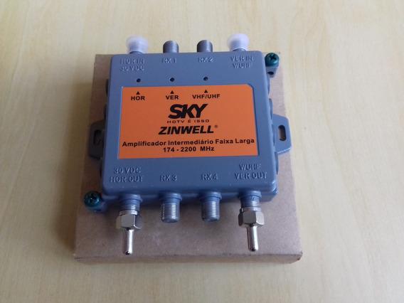 Amplificador Intermediário Faixa Larga Zinwell