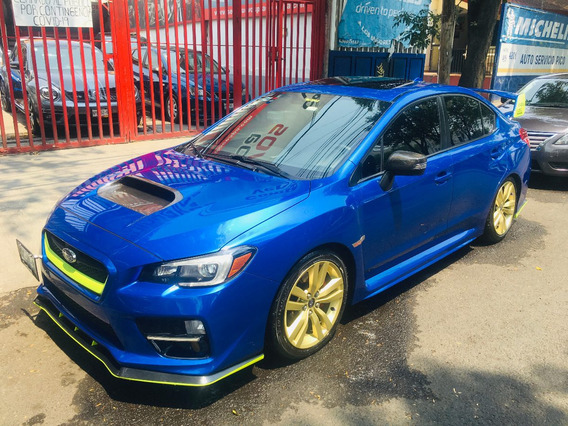 Subaru Impreza Wrx Manual 2016 Impecable Factura Agencia