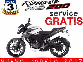 Moto Rouser 200 Ns Nacked Sport 0 Km 2018 Black Friday Plus