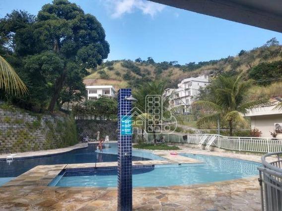 Apartamento Para Alugar, 60 M² Por R$ 1.200,00/mês - Maria Paula - São Gonçalo/rj - Ap2848