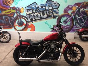 Harley-davidson Iron 883 12 Titulo Limpio Checala!!!!