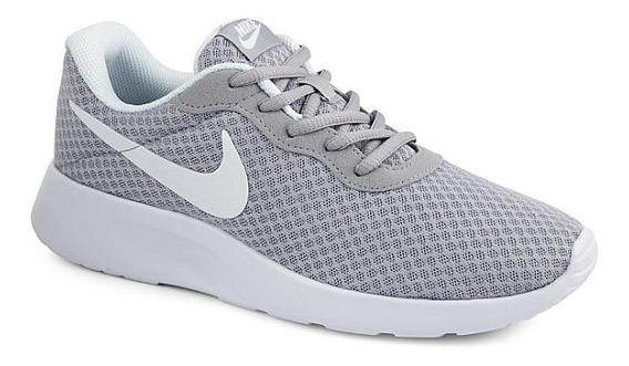 Tenis Nike Modelo. 700255 Tanjun Gris De Mujer / H