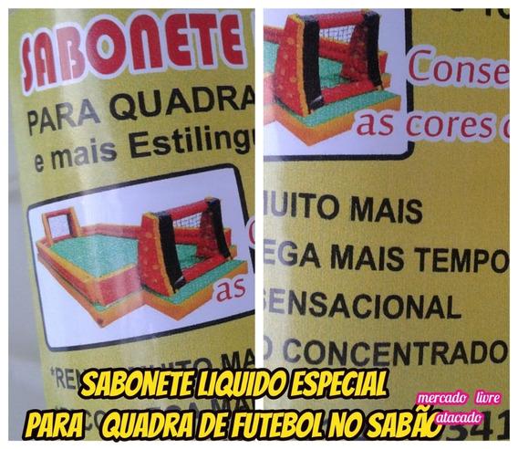 Sabonete Liquido Especial P/quadra De Fut.sabão Kit C/03lts