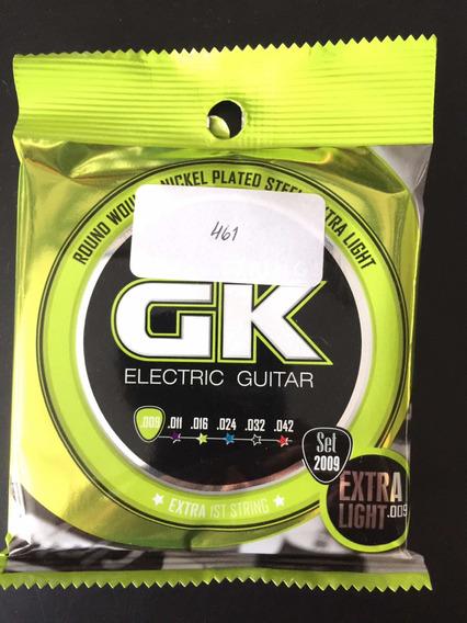 Encordado De Guitarra Electrica Gk 09