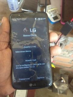 Celular Lg K10 Com Defeito Na Tela