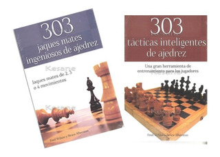 2 Libros De Ajedrez 303 Jaques Mates Y Tácticas Ingeniosas