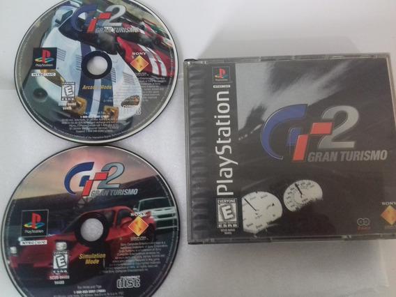 Gran Turismo 2 Original Ps1 Americano Frete Gratis Por Cr