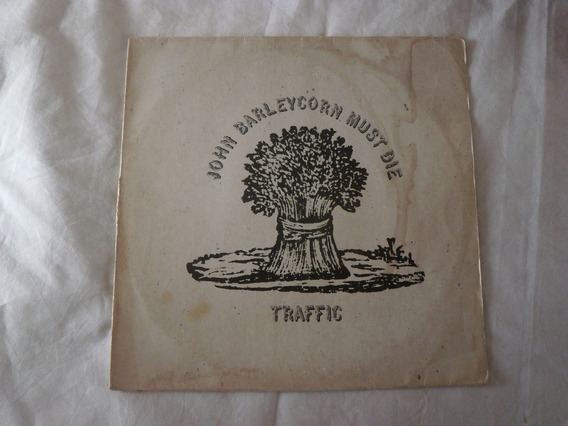 Lp Traffic 1978 John Barleycorn Must Die, Disco Vinil Rock