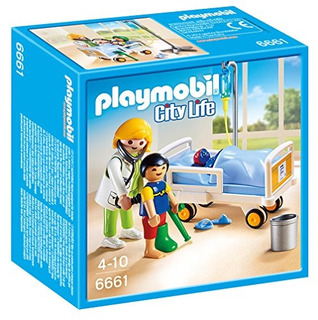 Playmobil Medico Con Nino