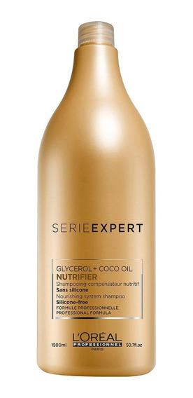 Shampoo Expert Nutrifier Cabellos Secos 1500ml Loreal Pro