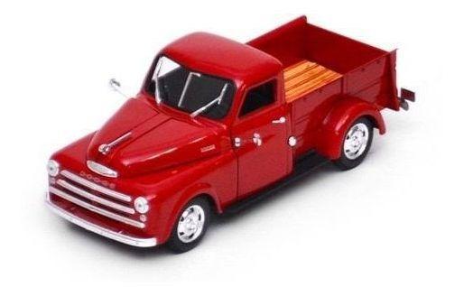 1948 Dodge Pickup Vermelho - Escala 1:32 - Signature Models