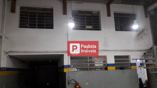 Galpão Para Alugar, 500 M² Por R$ 7.200,00/mês - Campo Belo - São Paulo/sp - Ga0557