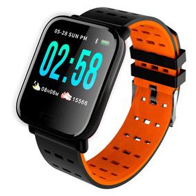 Relógio Inteligente Smart Bracelete A6 Batimentos E Pressão