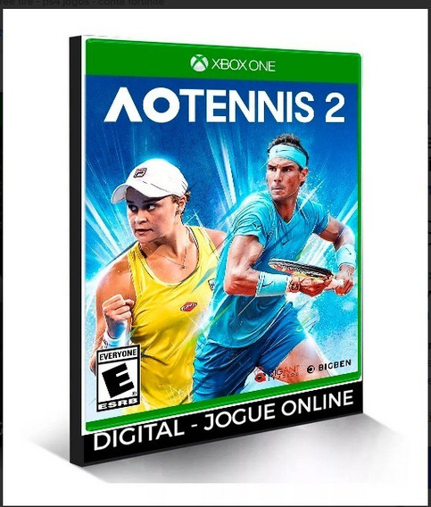 Ao Tennis 2 Midia Digital X Box One