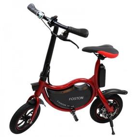 Foston Scooter Bike Fs-p12 Mini Bicicleta Elétrica Vermelha