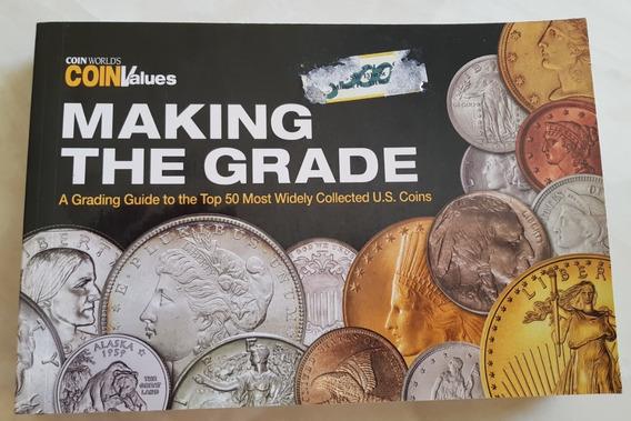 Livro Em Inglês Moedas Making The Grade Coins Values