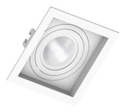 Pacote 24 Embutidos Quadrados Par20 Recuado Branco Ou Preto Par 20 Save Energy Soquete E27