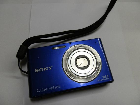 Câmera Digital Cyber-shot Dsc-w330 Azul 14.1 Quebrada Peças