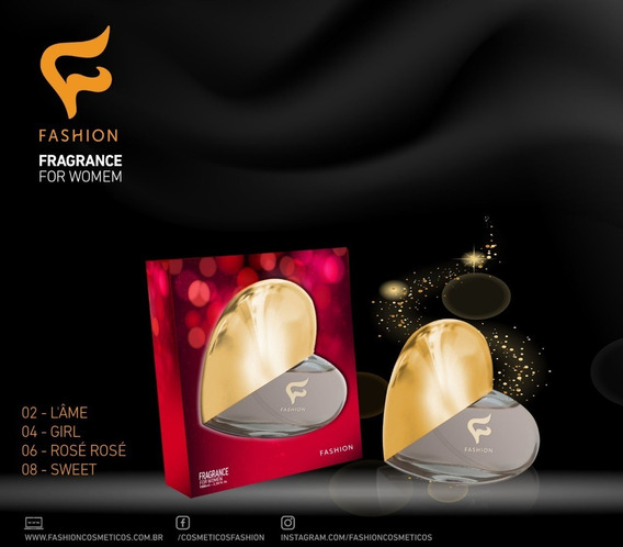 Perfume Com Formato De Coração Fashion
