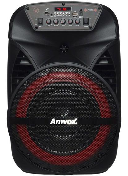 Caixa Som Amplificada Bluetooth 280w Portátil Led Falante 12