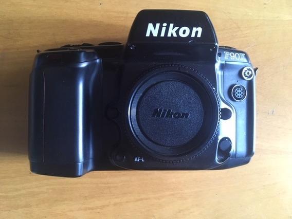 Câmera Nikon F90x (filme)
