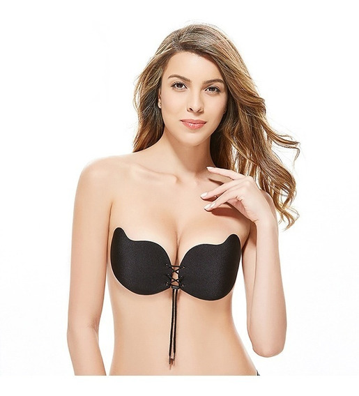 Magic Bra Invisible Con Adhesivo Y Push Up Para Escotes