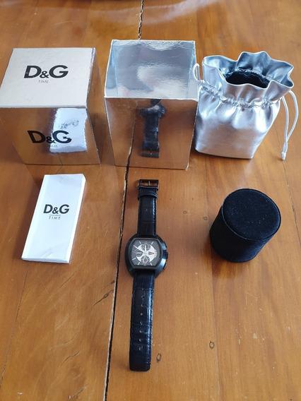 Relógio D & G Dolce & Gabbana Dw0214 High Security - Original - Fotos 2,3,4 Originais Produto Semi Novo Perfeito Estado