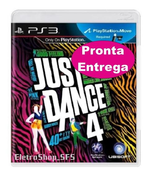 Just Dance 4 Para Ps3 Mídia Física Original - Pronta Entrega