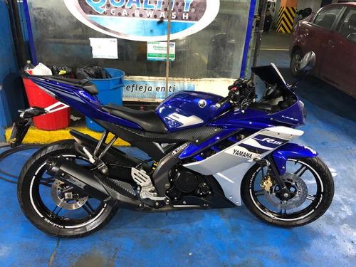 Yamaha R15 Cc 150 Color Azul