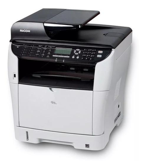 Impressora Multifuncional Ricoh Sp3510sf Adf Duplex Usada